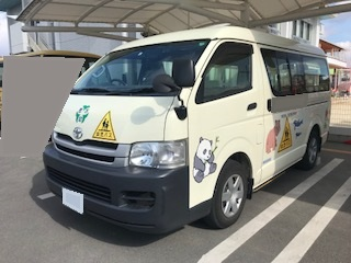 トヨタハイエース 園児バス