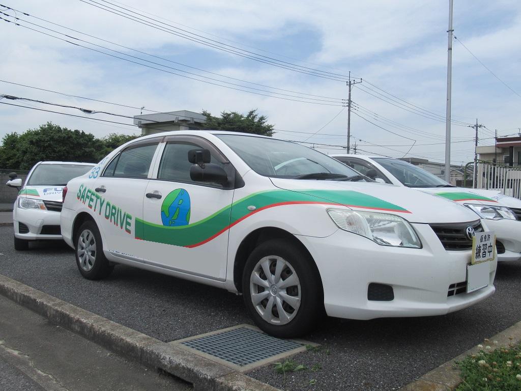 トヨタカローラアクシオ教習車